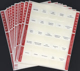 Pre-printed Tabs and Highlights for Florida State Pollutant Storage Contractors Book Package