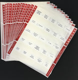 Pre-printed Tabs for Florida State General Contractor Book Package; Tabs Only