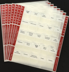 Pre-printed Tabs and Highlights for Florida State Business & Finance Book Package