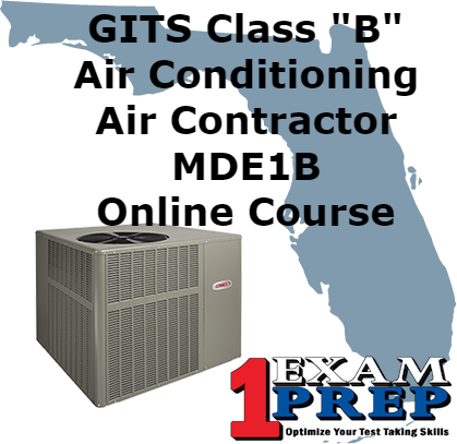Gits Class Quot B Quot Air Conditioning Contractor Mde1b