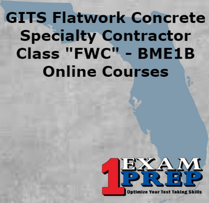 "GITS Flatwork Concrete Specialty Contractor - Class ""FWC"" - BME1B"