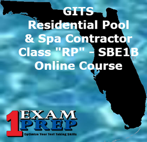 "GITS Residential Pool/Spa Contractor - Class ""RP"" - SBE1B"
