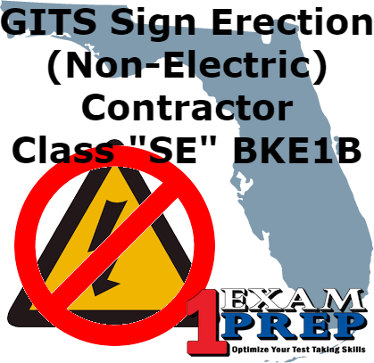 GITS Sign Erection (Non-Electric) Contractor - Class