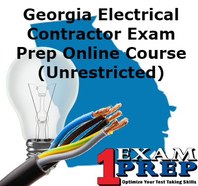 Georgia Electrical Contractor Exam Prep course (Unrestricted)