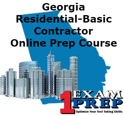 Georgia Residential-Basic Contractor Online Prep Course