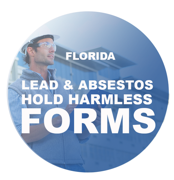 LEAD & ASBESTOS HOLD HARMLESS FORMS