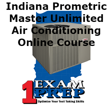 Indiana Prometric Master Unlimited Air Conditioning Course