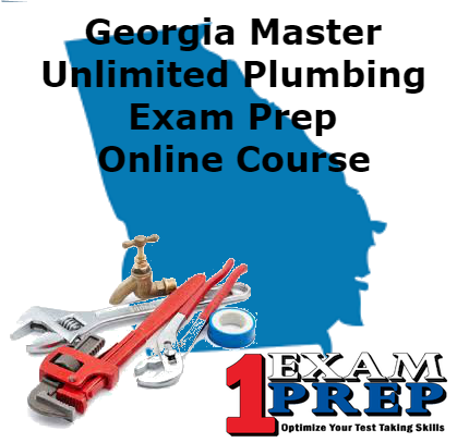 Courses all one exam prep georgia master unlimited plumbing exam prep course fandeluxe Image collections