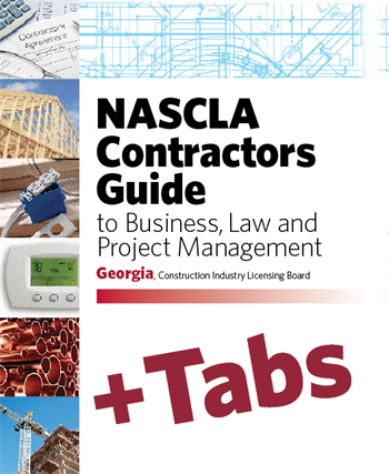 Georgia Nascla Contractors Guide To Business Law And
