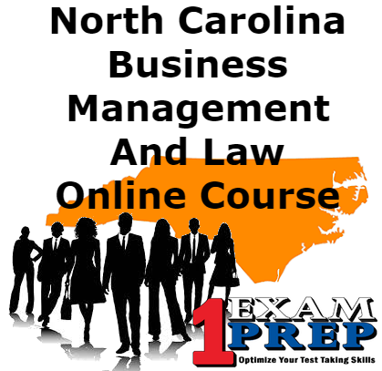 North Carolina PSI Business Management And Law Course