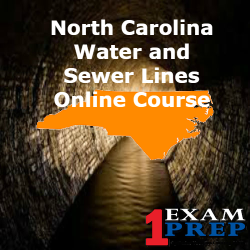 North Carolina Water and Sewer Lines Online Course