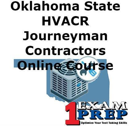 Oklahoma HVACR Journeyman Exam Prep Course