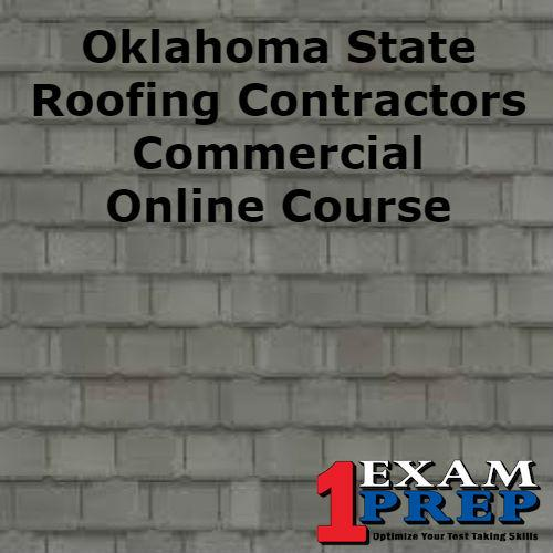 Oklahoma State Roofing Contractors Commercial Course One