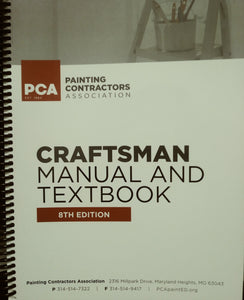 Painting and Decorating Craftsman Manual, 8th Edition; Tabbed and Highlighted