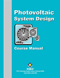 Photovoltaic System Design Course Manual, 1999 Book