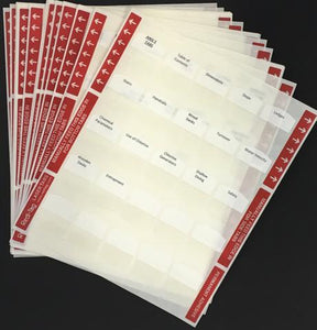 Pre-Printed Tabs and Highlights for Florida State Service Pool Contractors Trade Book Package