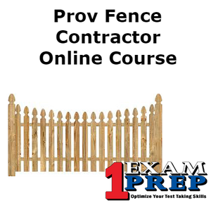 Prov Fence Contractor Course