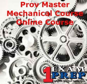 Prov Master Mechanical Course