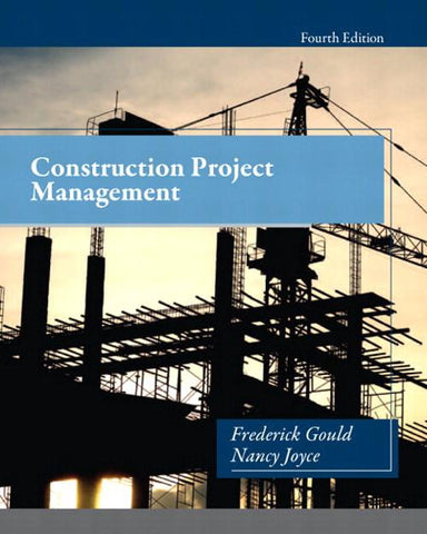 Construction Project Management, 4th Edition