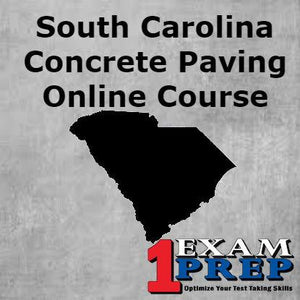 South Carolina Concrete Paving Course