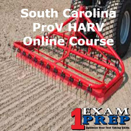 South Carolina ProV HARV Course