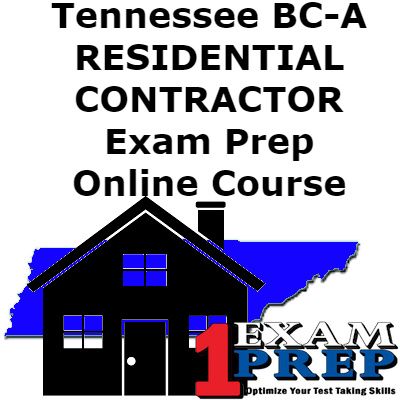 Courses all one exam prep tennessee bc a residential contractor exam prep course fandeluxe Image collections
