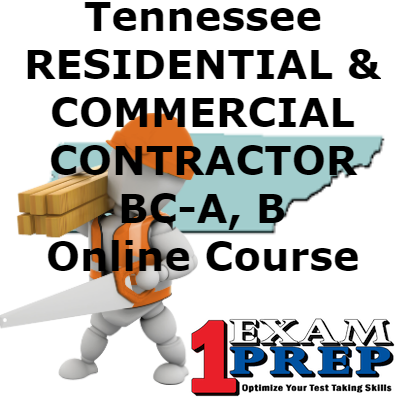 Tennessee BC-A, B - COMBINED - RESIDENTIAL/COMMERCIAL CONTRACTOR Online Course