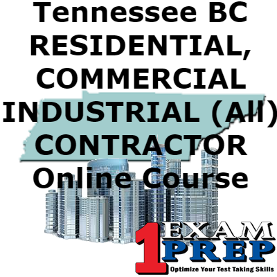 Tennessee BC - COMBINED - RESIDENTIAL/COMMERCIAL/INDUSTRIAL CONTRACTOR Online Course