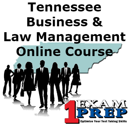 Tennessee Business and Law Management Online Course