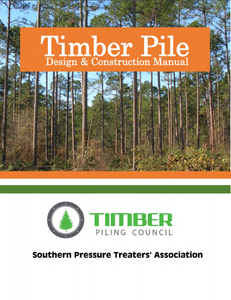 Timber Pile Design & Construction Manual, 2016