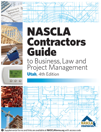 UTAH-NASCLA Contractors Guide to Business, Law and Project Management, Utah 4th Edition Book w/ Pre-placed Tabs & Pre-highlighted
