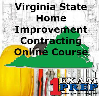 Virginia State Home Improvement Contracting Course
