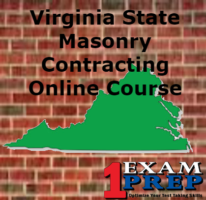 Virginia State Masonry Contracting Course