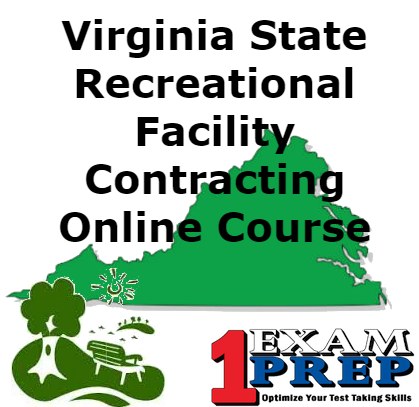 Virginia State Recreational Facility Contracting Course