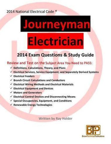 Ray Holder's 2014 Journeyman Electrician Study Guide