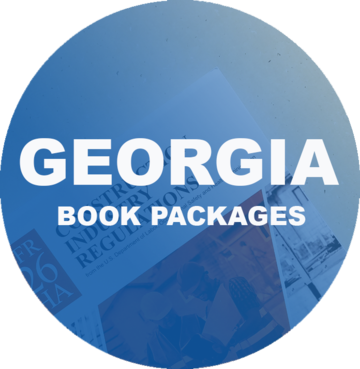 Georgia Residential Light Commercial Contractor Pre tabbed and Highlighted Book Package