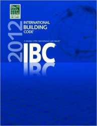 2012 International Building Code (IBC); Paperback