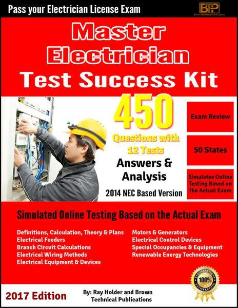 Ray Holder's 2014 Masters Electrician Exam Questions Tests; Online Course