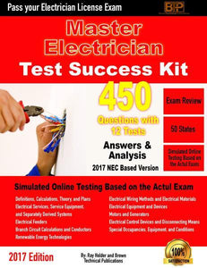 2017 Master Electrician Exam Questions Tests-Online Version