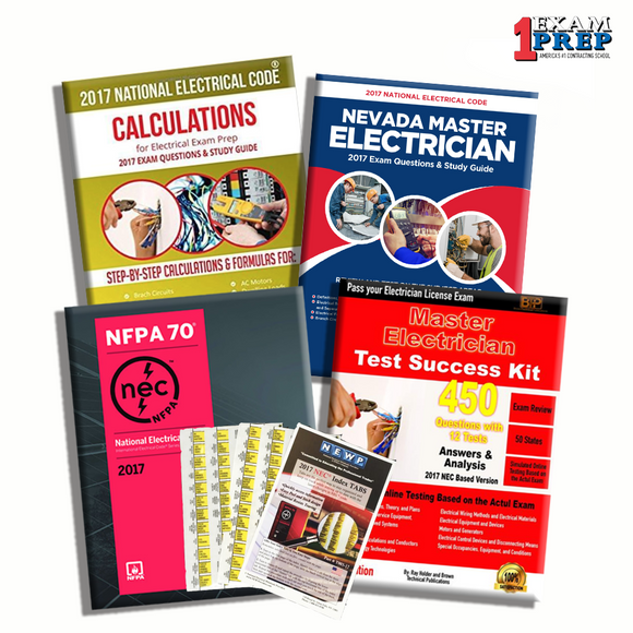Nevada Master Electrician Exam Prep Package