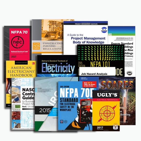 NASCLA Master Unlimited Electrical Book Package
