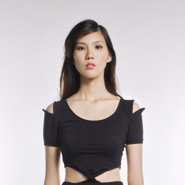 Nestor Top In Black