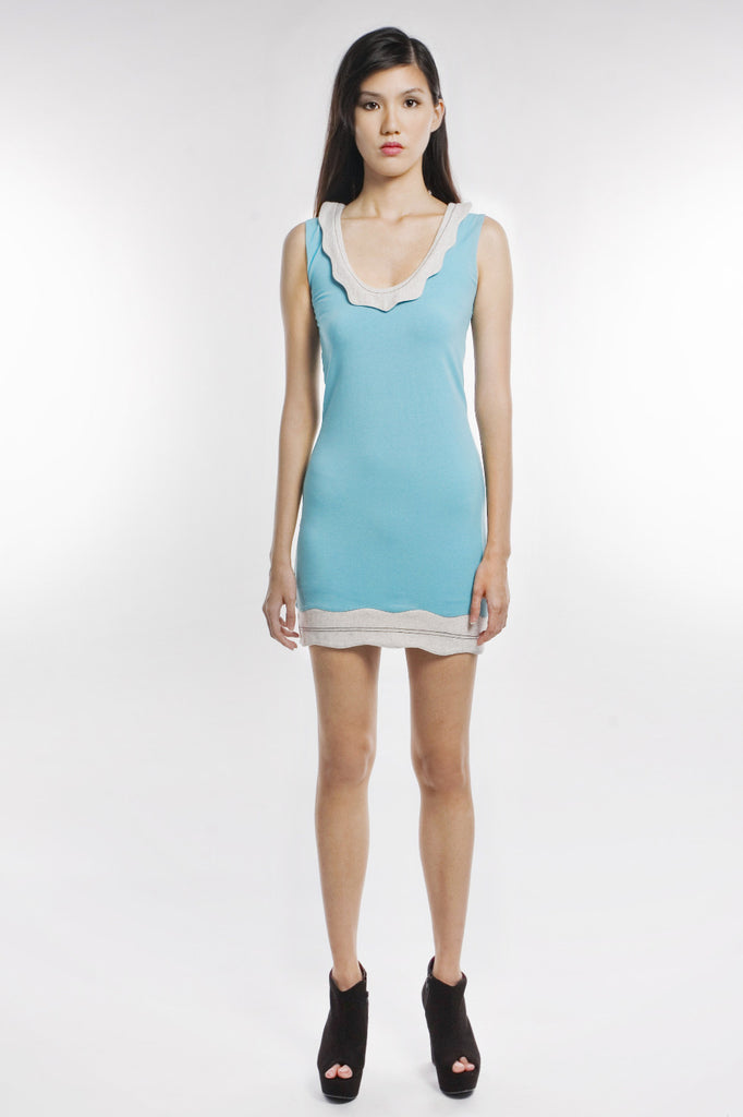 Arlene Dress In Baby Blue