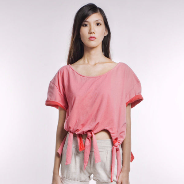 Wanda Top In Pink/Orange