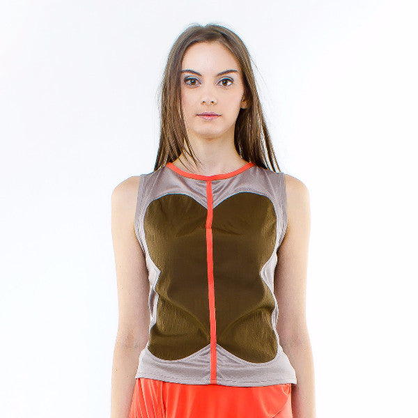 Freesia Top In Brown