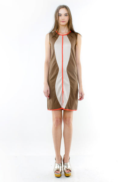Laurelie Dress In Brown