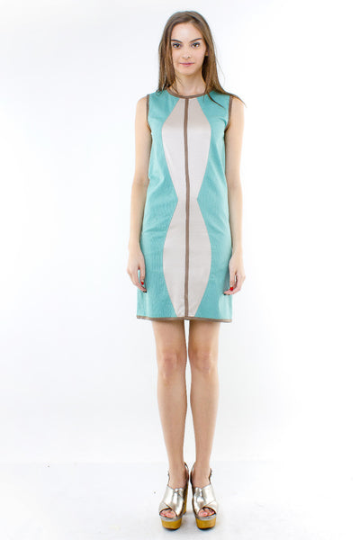 Laurelie Dress In Mint Green