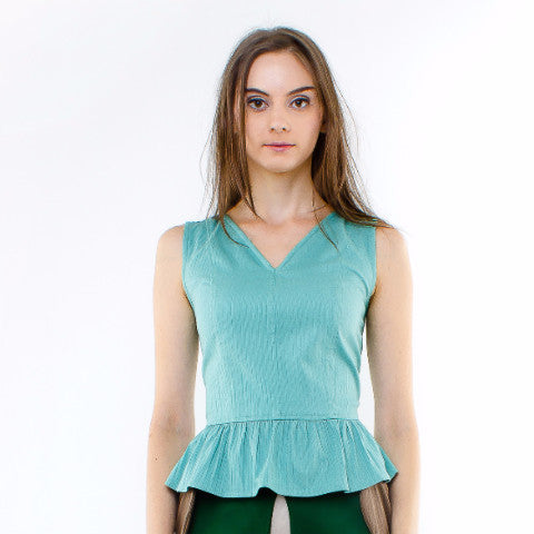 Hyacinth Top In Green