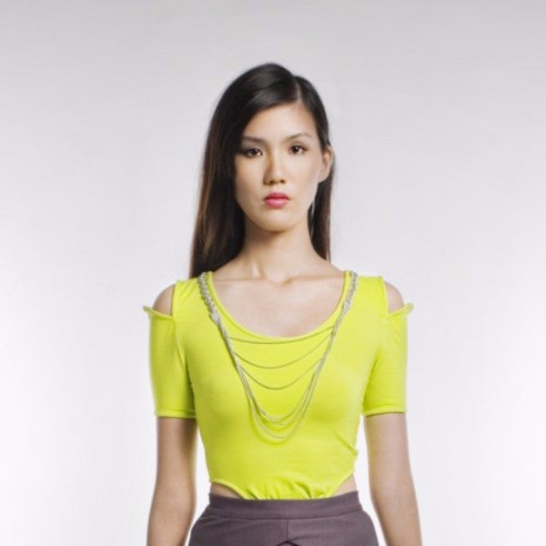Nestor Top In Lime