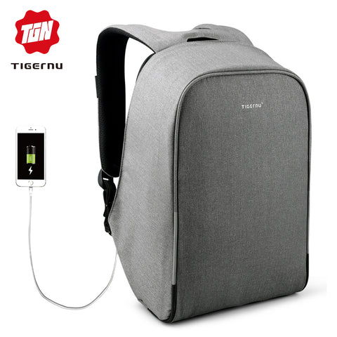 Tigernu Anti-theft 15.6inch Laptop Backpack With Rain cover